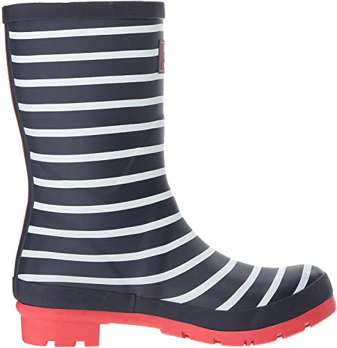 Joules Damen Molly Welly Gummistiefel, Blau (French Navy Stripes Fnavstp), EU 36
