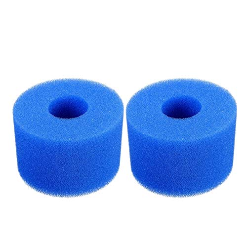 LaiYueShangMao Cartuccia Filtro Vasca para INTEX Puros SPA Reutilizable Lavable Espuma Bañera de hidromasaje Cartucho S1 Tipo S1 para Piscina (Color : Blue)