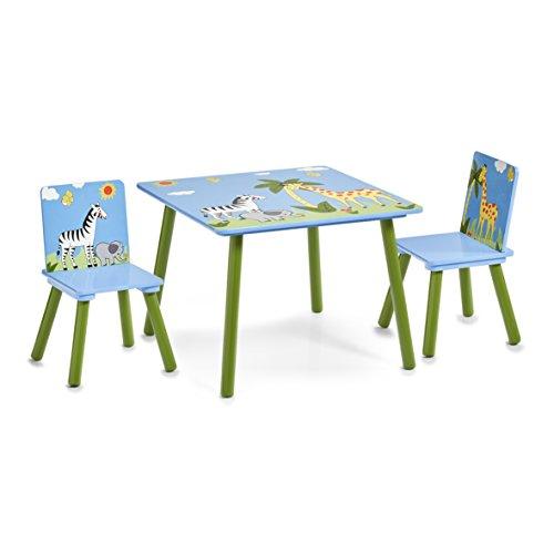 Zeller 13496 Kinder-Sitzgarnitur Safari, MDF, Dekor