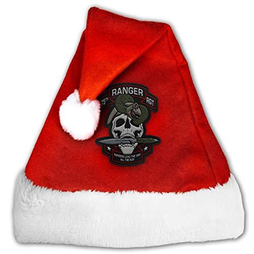 haoqianyanbaihuodian Ranger Regiment United States Army Christmas Party Sombrero de Navidad Unisex