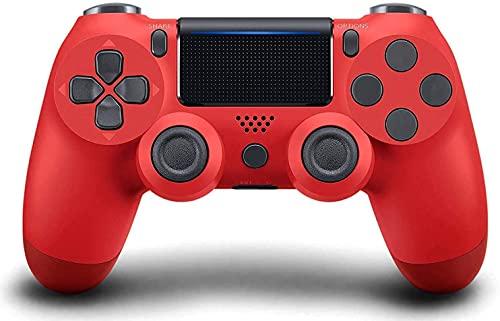 Controlador sem fio para PS4, Controlador de jogos para Pc Gamepad Joystick para Playstation 4 / Pro / Console fino com choque de vibração dupla / Sensor giroscópio de 6 eixos / Função de áudio