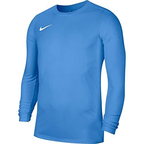 Nike Dry Park VII, Maglia a Maniche Lunghe Uomo, Blue/White, XL