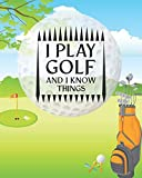 Golf Lessons For Beginners: Your First Golf Lesson Book for Recording Progress Tournaments and Memories (Golf Lesson Books Calendars Memoirs)