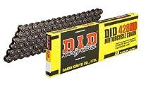 D.I.D(大同工業)バイク用チェーン クリップジョイント付属 428H(D)-110RB STEEL(スチール) 強化チェーン 二輪 オートバイ用