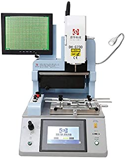 Dinghua DH-G730 Automatic Optical Alignment Bga Rework Station Cell Phone Chip Desoldering Reballing Station