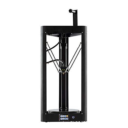 H&1 Delta Imprimante 3D, Corps Métallique avec Treillis Nuitées Plate-Forme Et Fonction Automatique De Mise À Niveau De Précision, Volume d'impression 255 255 * 360Mm