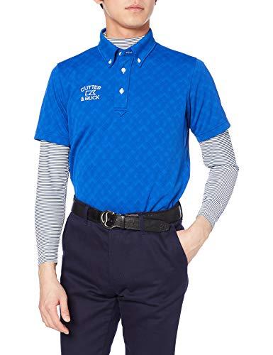 [カッターアンドバック] 半袖シャツ CGMPJA23W メンズ BL00(ブルー) 日本 L (日本サイズL相当)