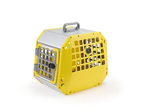 Kleinmetall Care2 Auto Transportbox Größe L, gelb