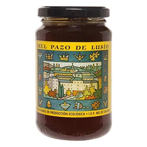 Pazo de Lusío - Miel de Flores de Montaña - Miel de Galicia - Ideal para Untar y Para Infusiones - 500 Gramos