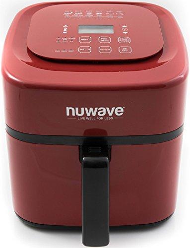 NuWave oven1016 Air Fryer oven, 6 qt (Red)