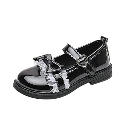 YWLINK Zapatos De Cuero Para NiñOs,Zapatos De Princesa De Suela Blanda,Zapatos De Rendimiento Para Estudiantes,Zapatos De Baile,Zapatos De Fiesta De Boda,Zapatos De Vestir,Zapatos Individuales