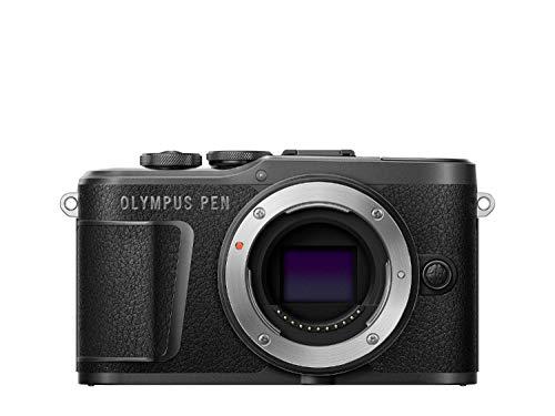 Olympus E-PL10 - Cámara de 10 MP, batería y cargador incluidas, color negro