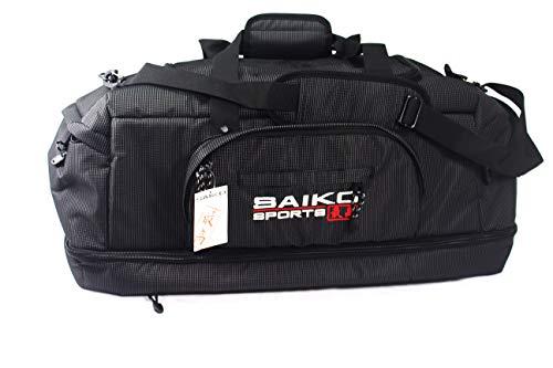 SaikoSports Aufwendig verarbeitete Sporttasche - Reisetasche - Karate-Tasche - auch als Rucksack zu tragen