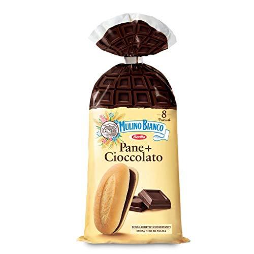24x Mulino Bianco Kuchen pane + cioccolato brot mit schokolade Schokoriegel 37,5