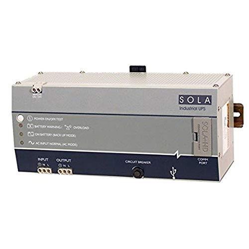 SolaHD SDU 500A DIN Rail AC UPS, 300 W,500 VA, 120V AC