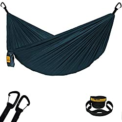 Wise Owl Outfitters Featherlight/Ultralight Hammock with Tree Straps