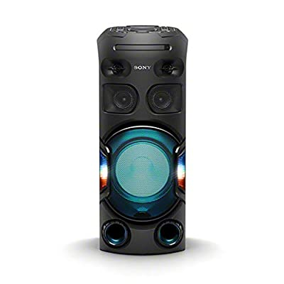 Sony MHC-V42D, High Power Party Speaker. One Box Music System with Multi Colour Lighting Effects by Sony