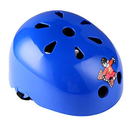 BNHHB Kinderen/Kinderen/Kinderen Micro Scooter Helm Ideaal voor Skateboard Bike en Stunt Scooter Age Guide 3-12 jaar Jongens Meisjes