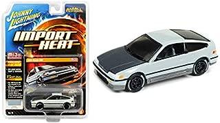Johnny Lightning 1990 Honda CRX Gloss Gray Street Freaks Series Limited Edition Toy