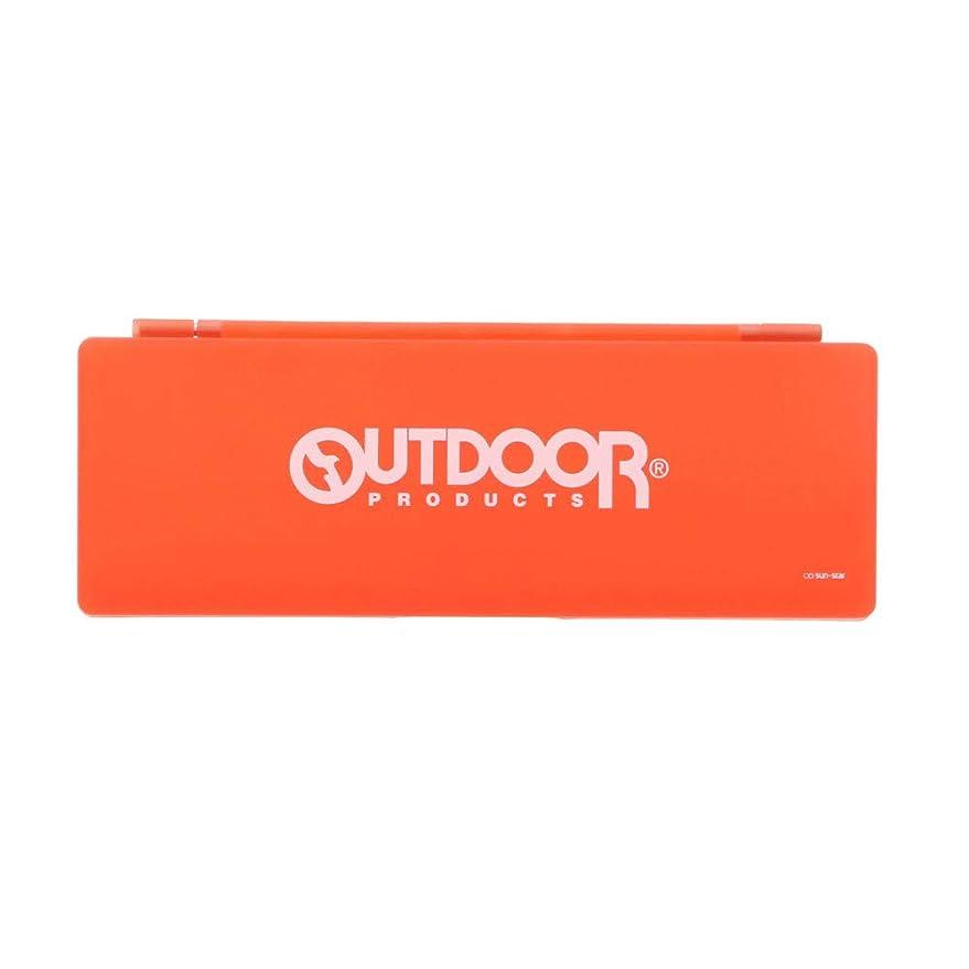 マウスピースドラフトヤギサンスター文具 ペンケース アウトドア PP オレンジ S1033069
