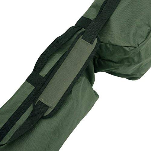 NGT Carp QuickFish 3 Made & 3 Unmade Rod Holdall for 12ft Rods with Pockets