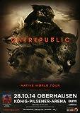 OneRepublic - Native World, Oberhausen 2014 »