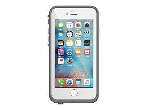LifeProof 77-52564 Custodia Serie Fre con Protezione IP-68 e MIL STD 810G-516 per Apple iPhone 6/6s, Grigio/Bianco