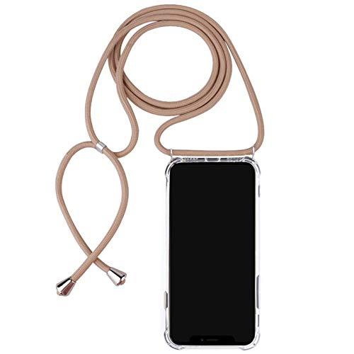 Lobwerk Beschermhoes met gsm-ketting voor Apple iPhone 11 Dunne Case Tas Outdoor Telefoonhoes van TPU Schokbestendig Extra bescherming Licht