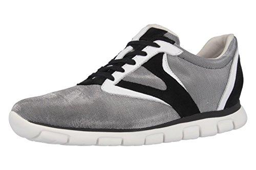 Gabor Sneaker in grote maten grijs 44.371.49 grote damesschoenen
