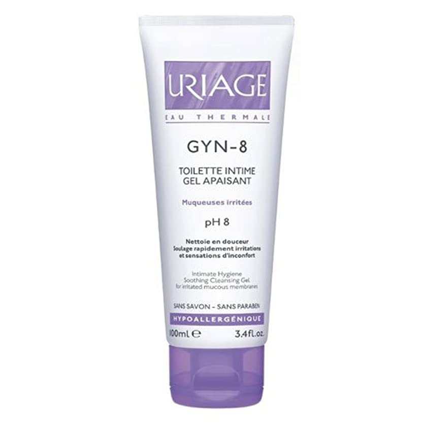 分析的蒸留する邪魔するUriage Gyn 8 Intimate Hygiene Soothing Cleansing Gel 100ml [並行輸入品]