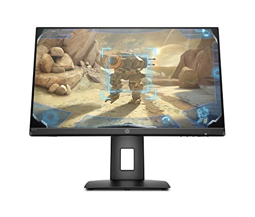 HP 24x 144Hz Full HD Gaming Monitor (1920 x 1080) NVIDIA G-Sync & AMD FreeSync compatible, 1ms Response time, built in speakers (1 DP, 1 HDMI), Black