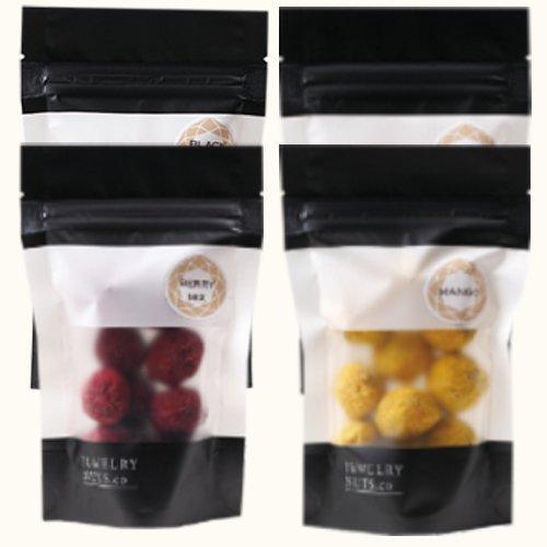 ジュエリーナッツ「スイーツ」4袋セット(チョコレート・マンゴー・ベリーミックス・ストロベリー)ジュエリーナッツ・カンパニー