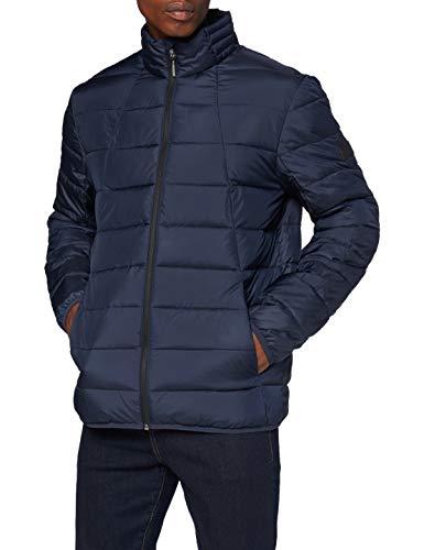 TOM TAILOR Denim Herren Lightweight Outdoor Jacke, 10668-Sky Captain Blue, L