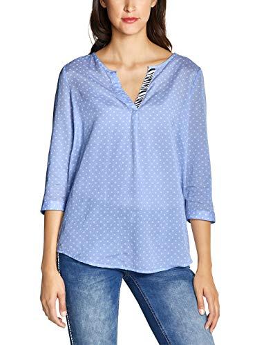 Street One Damen 341598 Bluse, Heaven Blue, (Herstellergröße:40)