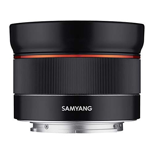 Samyang AF 24 mm F2.8 FE (Tiny but Wide) - Vollformat 24mm Weitwinkel Festbrennweite Autofokus Objektiv für Sony E, FE, E-Mount, für Sony A9, A7, A6500, A6300, A6000, A5100, A5000, Nex Kameras