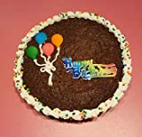 Each giant brownie cookie cake can feed up to 10 people The very best gourmet brownie cake - rich, fudgy and delicious Our brownie cakes are shipped directly from our family-owned bakery The Perfect Birthday Gift?they'll adore this chocolate lover's ...
