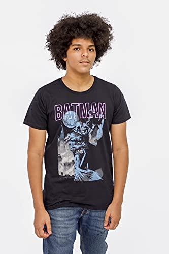 Camiseta Sideway Batman Beijo da Mulher Gato - Preta