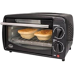 Quest Compact Oven Black 800W Small Kitchen Appliances