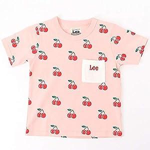 リー(Lee) フルーツプリント Tシャツ【100cm~160cm】【ピンク チェリー/160】