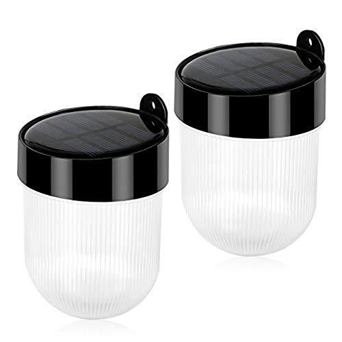 ソーラーライト 屋外 壁掛け LED センサーライト 感光式 夜間自動点灯 太陽光発電 IP65防水 配線不要 取付簡単 ガーデン 玄関 屋外 昼白色 電球色 2個セット