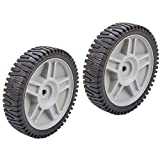 Set Of 2 Husqvarna AYP OEM Lawn Mower Wheels 581009202 193912X460