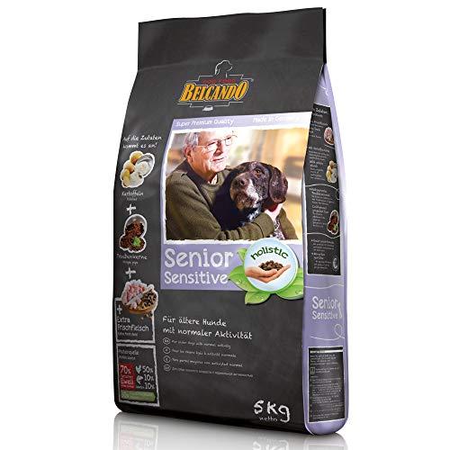 Belcando Senior Sensitive [5 kg] Hundefutter | Trockenfutter für ältere & empfindliche Hunde | Alleinfuttermittel für ältere Hunde Aller Rassen