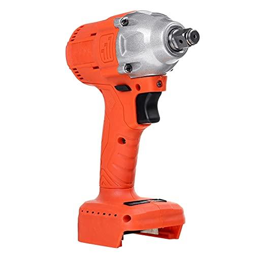 Taladro de perforación de potencia Llave de impacto sin cepillo eléctrico inalámbrico 1/2 llave de conexión herramienta de potencia recargable