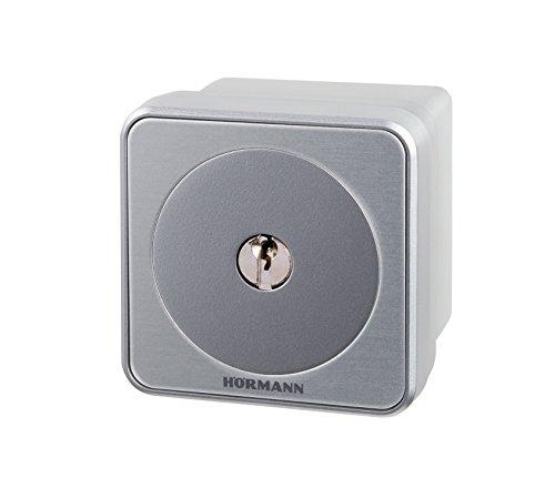 Hörmann 4511650 Schlüsseltaster/Schlüsselschalter STAP50 ~ überzeugt durch exklusives Design und 100% ige Kompatibilität, in Aufputzausführung ~ inklusive 3 Schlüssel