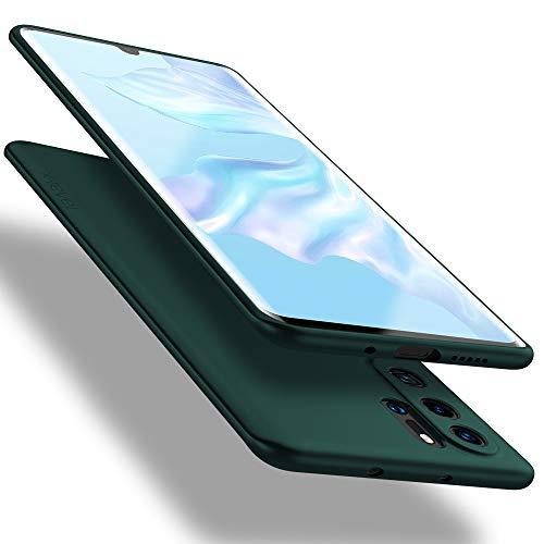 X-level Huawei P30 Pro Hülle, [Guardian Serie] Soft Flex TPU Hülle Superdünn Handyhülle Silikon Bumper Cover Schutz Tasche Schale Schutzhülle für Huawei P30 Pro New Edition - Grün