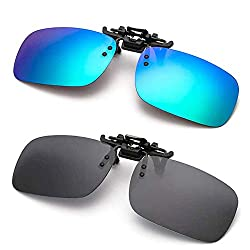 cheap Anti-reflective polarized clip-on sunglasses for fishing with flip-top sunglasses …