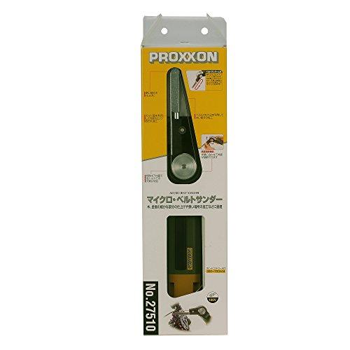 プロクソン(PROXXON)マイクロ・ベルトサンダーヘッド部角度調整可能無断電子コントロール付No.27510