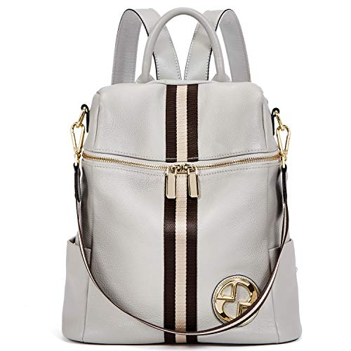 BOSTANTEN Geniune Leather Backpack Purse Fashion Casual...