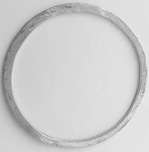 Minus I: Pulseras de plata rígida mujer