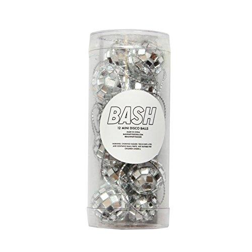 Bash Party Goods Disco Balls, Silver
